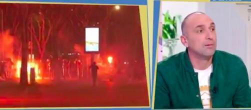 Jérôme Alonzo dézingue les président de l'OM JHE - © capture d'écran vidéo L'équipe d'Estelle