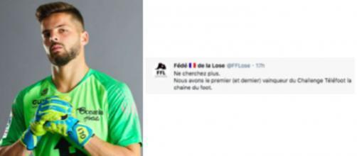 Larsonneur et la FF Lose font le buzz sur les réseaux sociaux - ©capture d'écran Instagram et Twitter