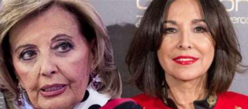 María Teresa Campos e Isabel Gemio en imagen.