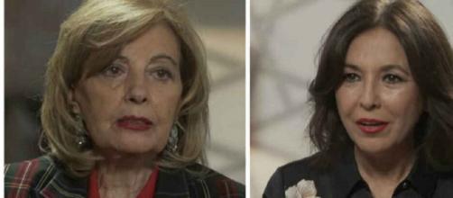 María Teresa Campos evita hablar de los temas polémicos ante Isabel Gemio