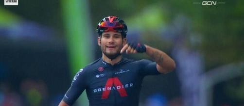 Filippo Ganna, grande protagonista dell'ultimo Giro d'Italia con quattro vittorie di tappa