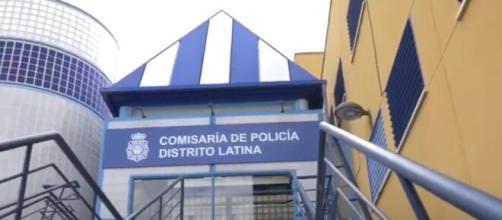 Las víctimas y testigos presentaron la denuncia del hecho en la Comisaría del Distrito de Latina (JUPOL)