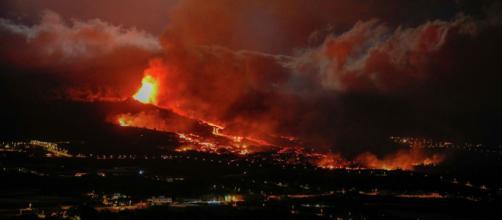 Nueva boca del volcán de La Palma y ya van tres (Pevolca)