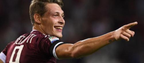 Juventus, possibile interesse per Belotti: la punta va in scadenza nel 2022.