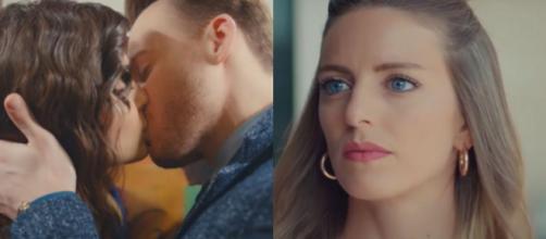 Love is in the air trame al 16 ottobre: Serkan bacia Eda davanti agli occhi di Selin.