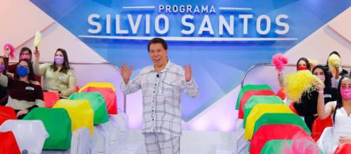 O apresentador de televisão Sílvio Santos: crise de depressão e isolamento social preocupam família e amigos próximos (Arquivo Blasting News)