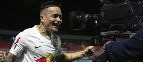 Red Bull Bragantino fez quatro no Palmeiras (Arquivo Blasting News)