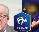 Jean-Marie Le Pen heureux pour Benzema et les Bleus. (crédit Twitter)