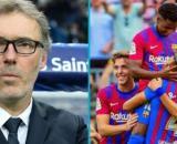 Laurent Blanc proche du Barça, il balance tout (capture YouTube et montage photo)
