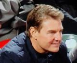 Tom Cruise enjoys Game 2 of the National League Division Series in San Francisco (Image source: SF Giants/NBCS)