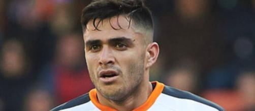Maxi Gomez, punta del Valencia.