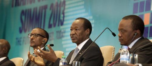 President Blaise Compaoré of Burkina Faso addresses participants at the Transform Africa Summit 2013 - Kigali, 29 October 2013 ©Flickr