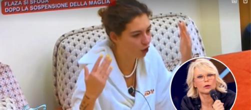 Amici21, Flaza minaccia di lasciare il programma dopo una discussione con Maria de Filippi: 'Devo sempre apparire male'.