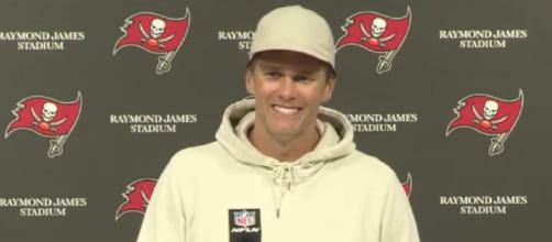 Brady led the Buccaneers past Dolphins (Image source: Tampa Bay Buccaneers/YouTube)