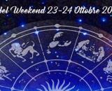 L'oroscopo del week-end 23 e 24 ottobre: Scorpione discreto, Luna infastidisce Sagittario.
