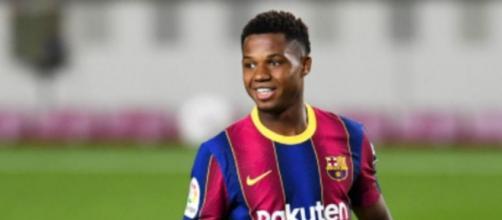 Ansu Fati, giocatore del Barcellona.