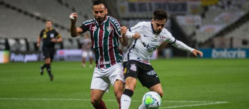 Corinthians encara o Fluminense nesta quarta (Divulgação/Lucas Mercon/Fluminense)
