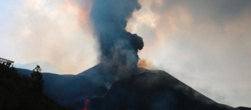 El volcán de La Palma ha provocado varios temblores durante la noche (Twitter, involcan)