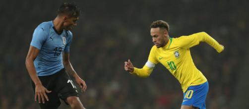 Eliminatórias terão cinco jogos nesta quinta, incluíndo o clássico Brasil x Uruguai ( Lucas Figueiredo/CBF)