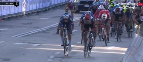 La volata finale del Giro del Veneto