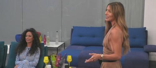Raffaella Fico e Soleil Sorge al GF Vip 6.