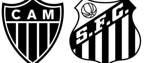 Onde assistir Atlético-MG x Santos ao vivo (Arte/Eduardo Gouvea)