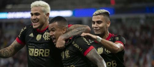 Flamengo segue na cola do Atlético MG (Alexandre Vidal/Flamengo)