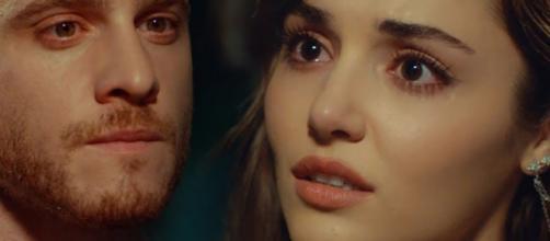 Love is in the air, anticipazioni turche: Serkan non dirà a Eda di avere un tumore al cervello.