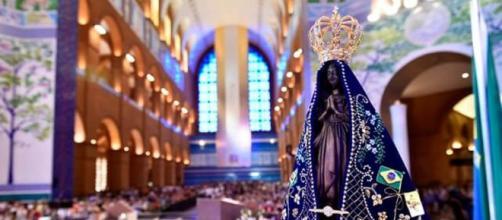 Nossa Senhora Aparecida é a padroeira do Brasil (Thiago Leon/ Santuário Nacional de Nossa Senhora Aparecida)