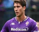 Dusan Vlahovic, giocatore della Fiorentina.