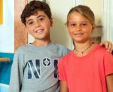 Un posto al sole, Jimmy poggi (Gennaro De Simone) e Cristina Ferri (Camilla Cossu).
