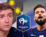 Bertrand Latour dévoile pourquoi Olivier Giroud ne sera plus sélectionné en Bleus (capture YouTube et montage photo)