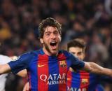 Sergi Roberto, centrocampista del Barcellona.
