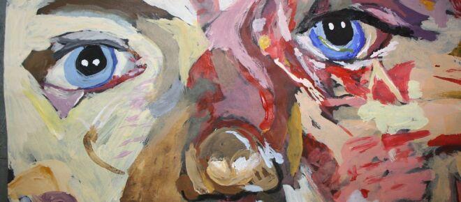 Turmoil in '81 movie 'Mommie Dearest' roils in Jenny Saville's art show 'The Mothers'