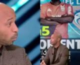 Thierry Henry en forme sur le plateau de Prime Video. (crédit Twitter)