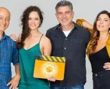 Un posto al sole, Diego (Francesco Vitiello), Susanna (Agnese Lorenzini), Franco )Peppe Zarbo), Angela (Claudia Ruffo).