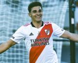 Julian Alvarez, attaccante del River Plate.