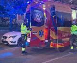 Sanitarios y agentes en el lugar de los hechos (Emergencias Madrid)