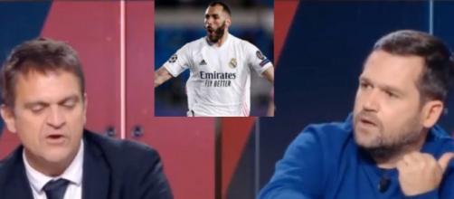 Un clash éclate sur le sujet Benzema Ballon d'Or. (crédit twitter)