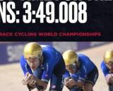 Filippo Ganna e compagni impegnati ai Mondiali di ciclismo.