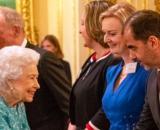 La reina Isabel II tuvo previamente a su ingreso al hospital una apretada agenda (Twitter/RoyalFamily)