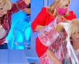 U&D, parte del pubblico contro Tina per il gavettone a Gemma: 'Orribile'.
