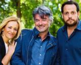 Un posto al solel, Silvia (Luisa Amatucci, ) Michele (Alberto Rossi) e Giancarlo (Alessandro D'Ambrosi).