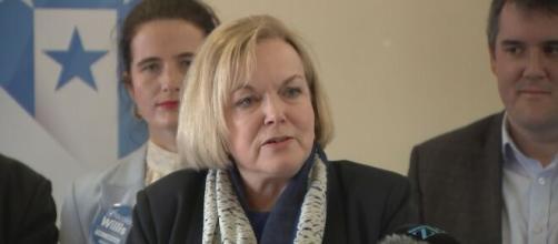 Judith Collins dell'opposizione neozelandese.