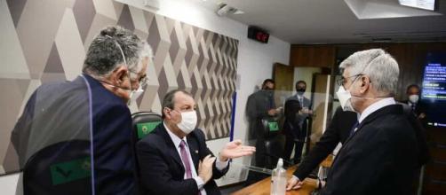 CPI da Covid entra na reta final e mira em ministro de Bolsonaro (Pedro França/Agência Senado)