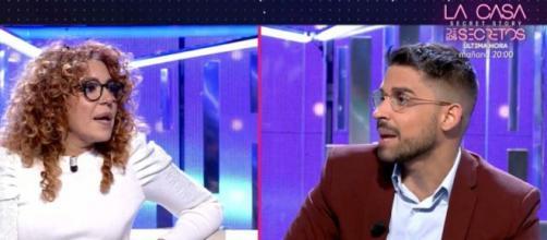 Sofía Cristo fue expulsada del reality después de empujar a Miguel Frigenti (Telecinco)