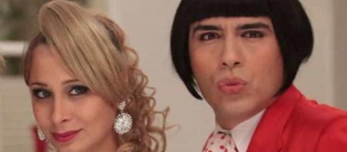 Caike Luna fez sucesso em 'Zorra Total' (Reprodução/TV Globo)