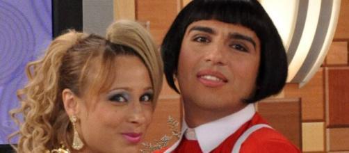 Caike Luna interpretou Cleiton em 'Zorra Total' (Reprodução/TV Globo)