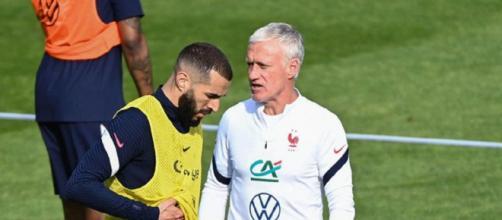 Karim Benzema pourrait de nouveau être exclu des Bleus, Didier Deschamps confirme (capture YouTube)