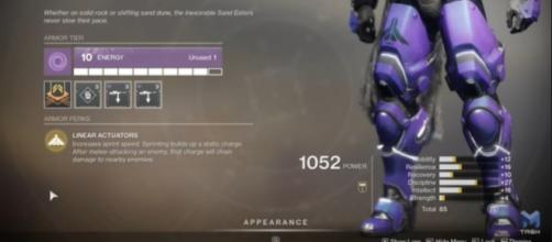 Looks like this Titan Exotic in 'Destiny 2' is about to get tweaked (Image source: Mtashed/YouTube)